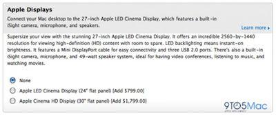 230733 27 inch display mac pro