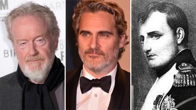 Ridley Scott Joaquin Phoenix Napoleon Bonaparte 1