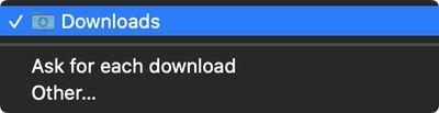 change safari download location mac 1