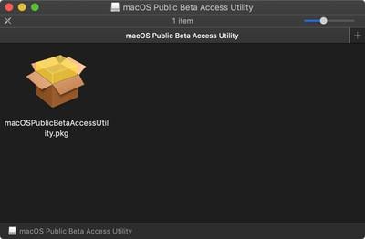 macos public beta profile installer
