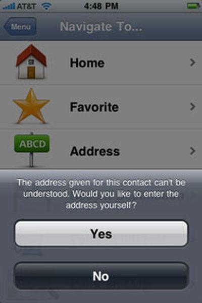 162400 tomtom contacts error
