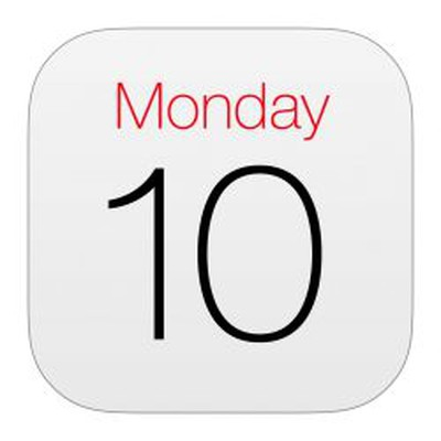 iphone calendar icon 5