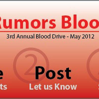 mr blood drive 2012