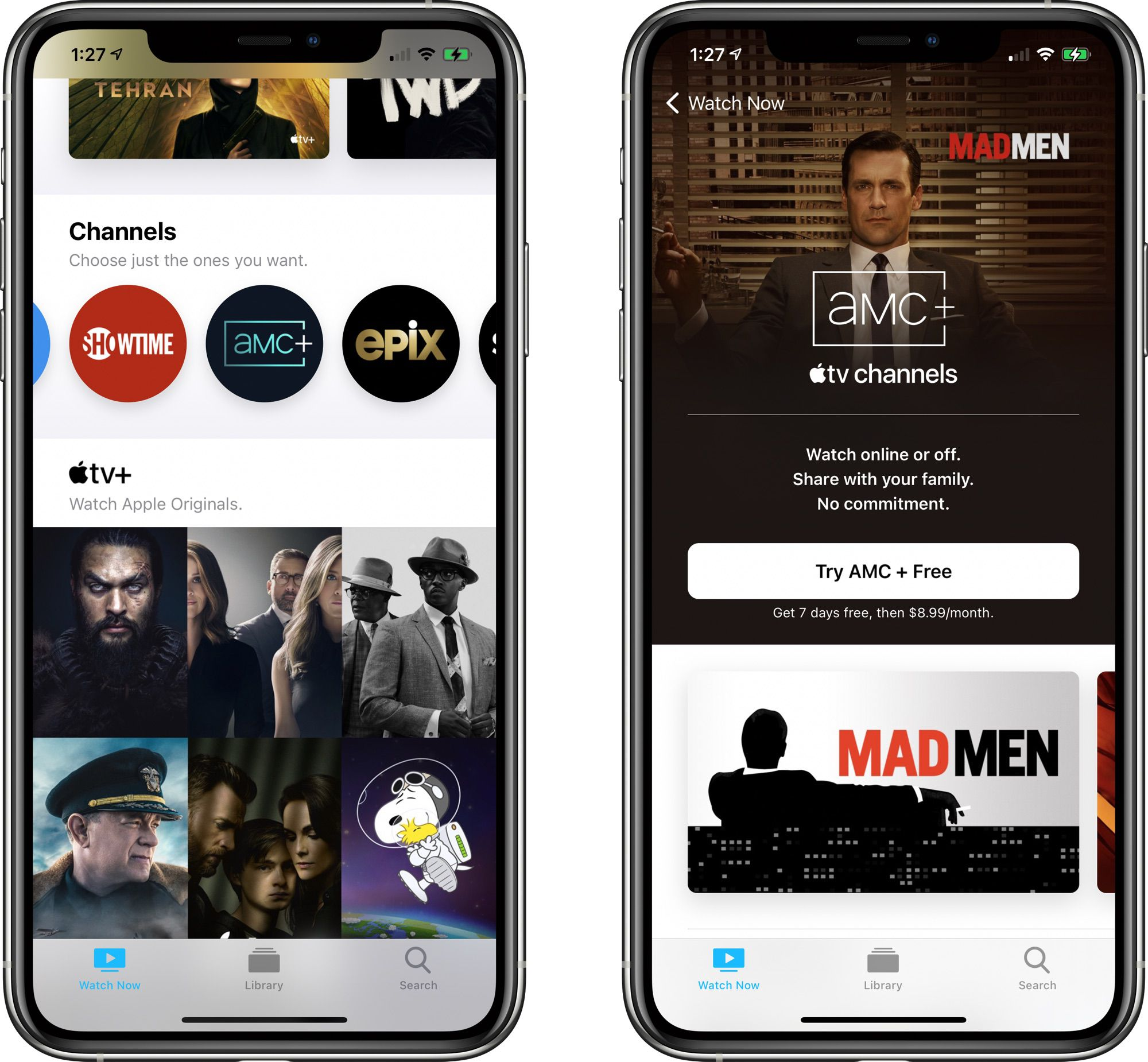 photo of AMC+ Streaming Service Available Through Apple TV Channels image