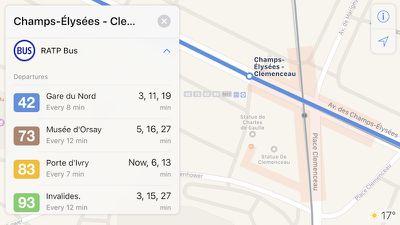 apple maps paris transit 2