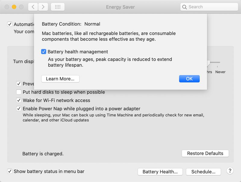 MacBooks are getting a much-needed battery health feature