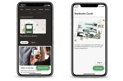 starbucks mobile in store pay