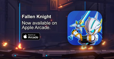 fallen knight apple arcade