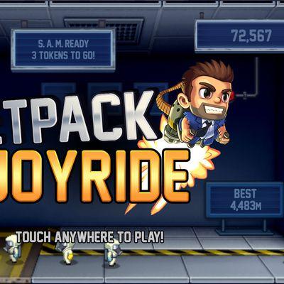 jetpack joyride apple arcade screen