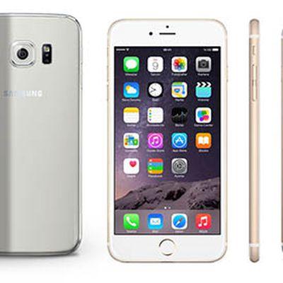 Galaxy S6 iPhone 6s