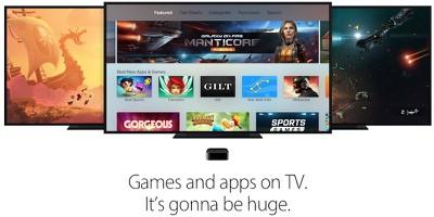 apple tv games apps huge