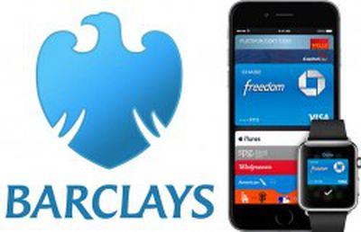 Barclays Apple Pay UK