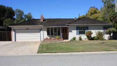 The childhood home of Steve Jobs.