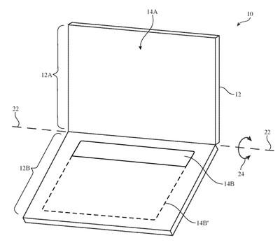 apple dual display patent