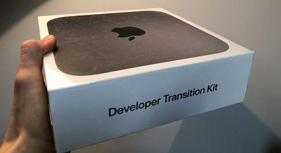 apple developer transition kit box