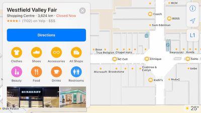 apple maps mall floor plan