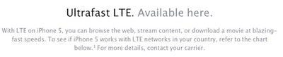 iphone 5 lte compatibility