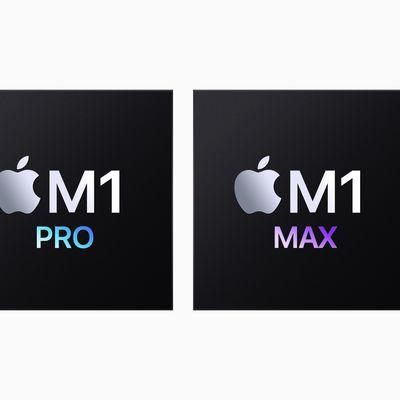 Apple M1 Pro M1 Max Chips 10182021