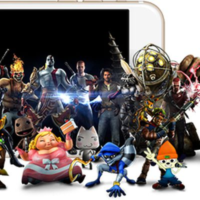 iPhone 6s sony characters