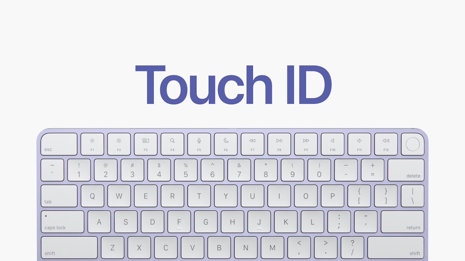 New M1 iMac Accessories Include Magic Keyboard With Touch ...