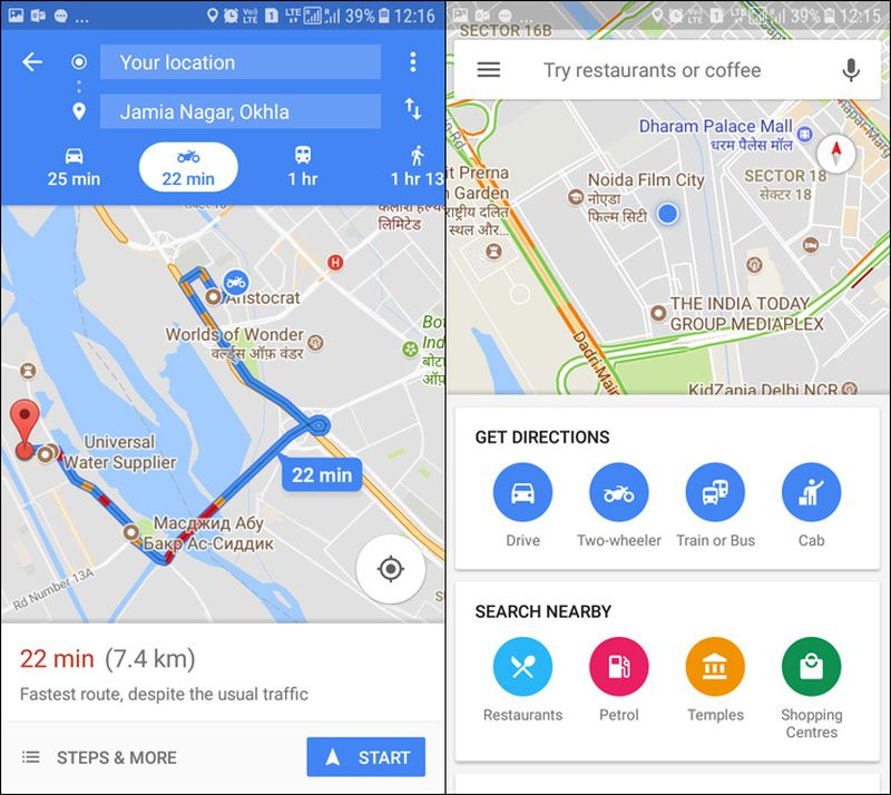 Google Maps 'Two-Wheeler' Mode Launches In India, More ... on google mapquest, mapquest directions, google calendar, google map lakeport ca, google latitude, map with directions, apple maps directions, google mapa, google street view, get directions, bing directions, google map request, google search, google map from to, google earth, driving directions, custom map directions, google mars, maps and directions, google livestreet map trinidad,