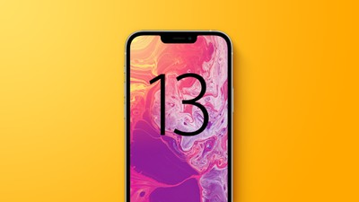 iphone 13 yellow with text