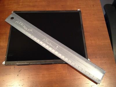 ipad 3 display mr ruler