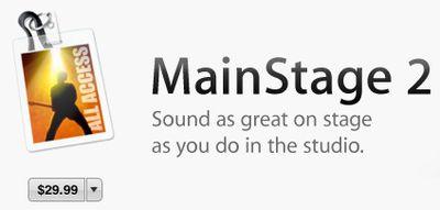 mainstage 2 mac app store