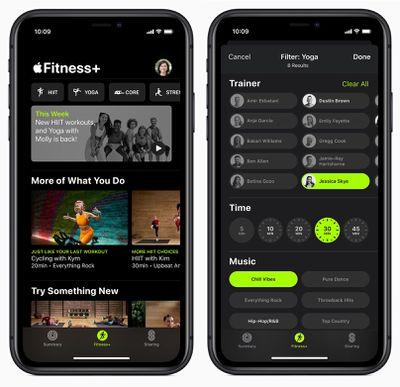 fitness plus iphone