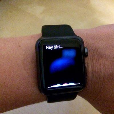 How to use Hey Siri Apple Watch 3