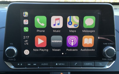 altima carplay home