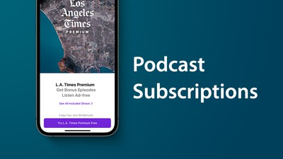 apple podcasts subcirptions feature
