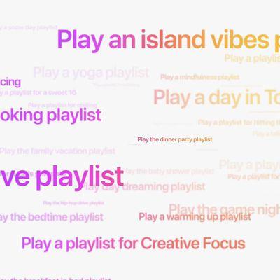 apple music playlist siri commands