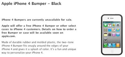 145410 bumpers unavailable