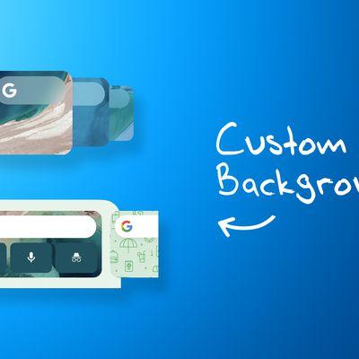 Google Widgets Custom Backgrounds Feature 2