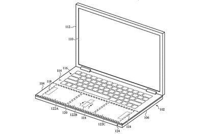 localized haptics patent macbook