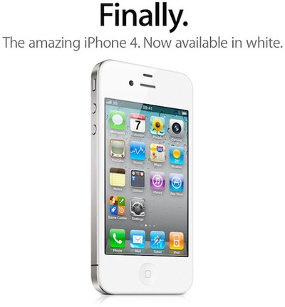 212452 white iphone 4 finally