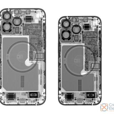 ifixit iphone 13 models xray
