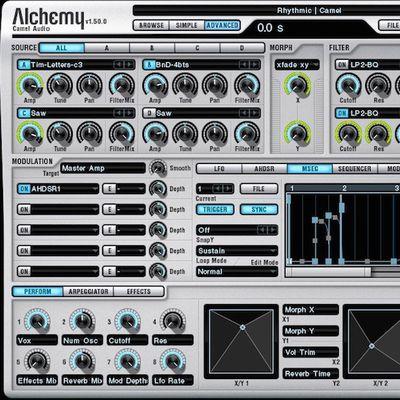 camel audio alchemy