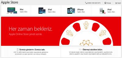 Turkey Apple Store