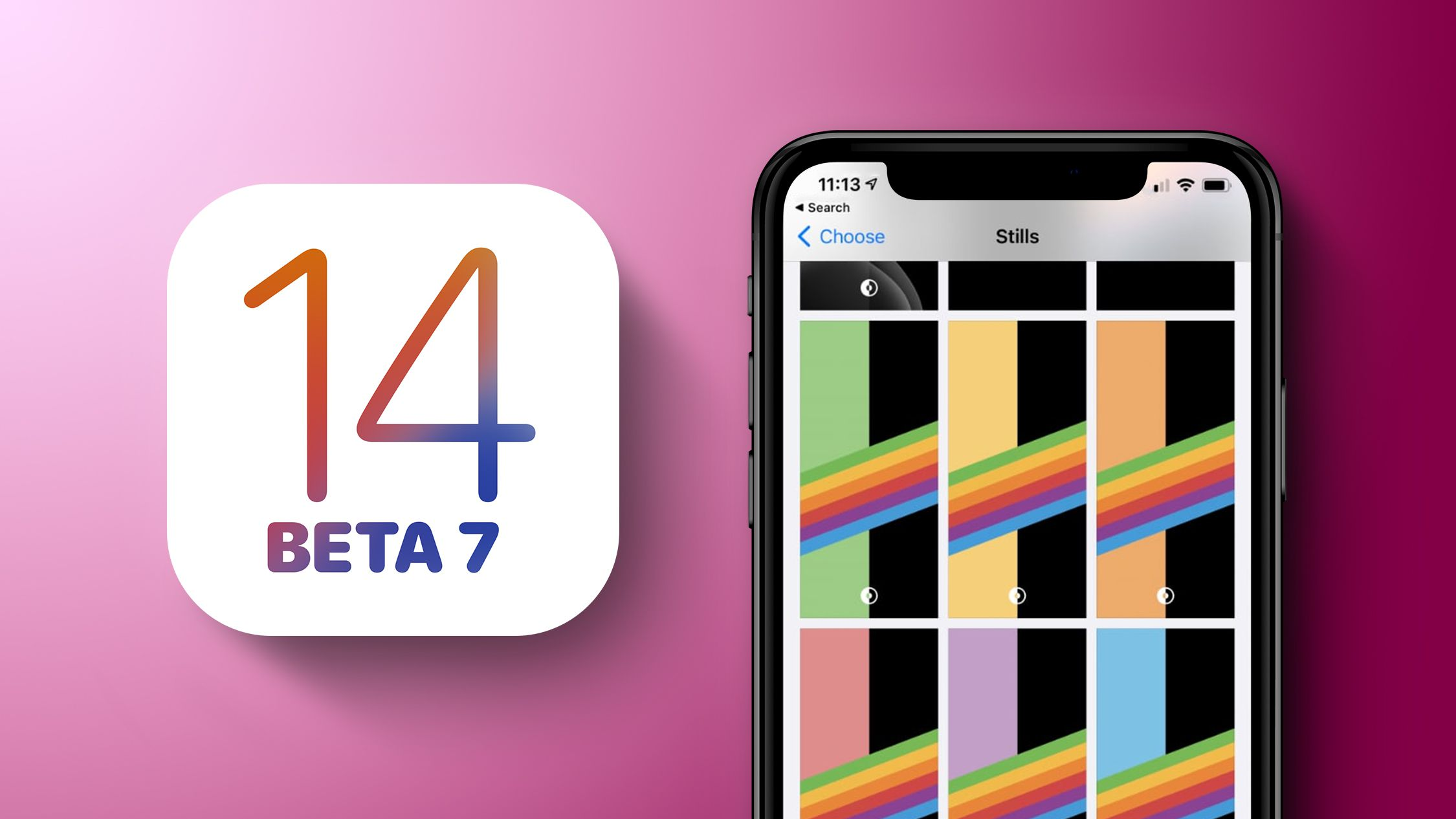What S New In Ios 14 Beta 7 Dark Mode Rainbow Wallpapers App Library Tweaks Macrumors
