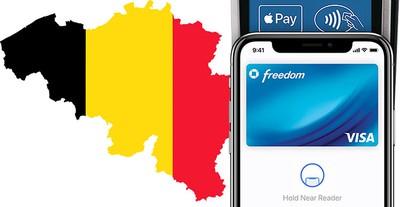 belgium apple pay