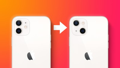 iPhone 13 Diagonal Cameras Feature