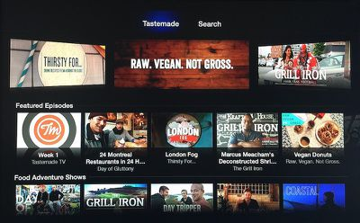 Tastemade Apple TV