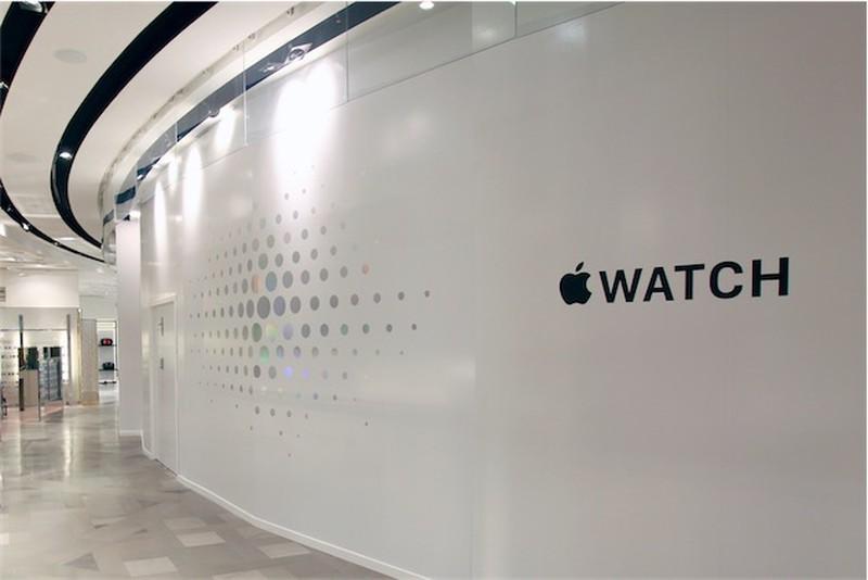 Paris Galeries Lafayette Apple Watch