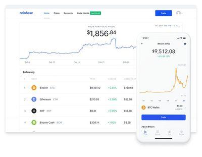 coinbase app mobile