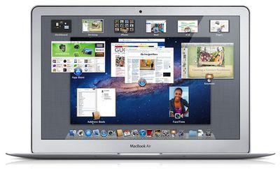 macbook air lion