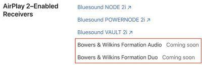 bowers wilkins airplay 2