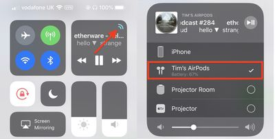 connect airpods to iphone