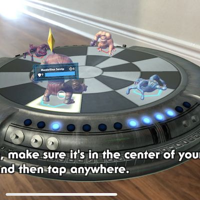 star wars holochess arkit
